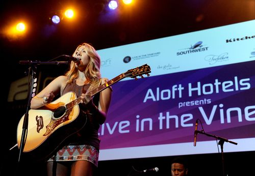 Colbie Caillat at Aloft Hotels Presents Live in the Vineyard2