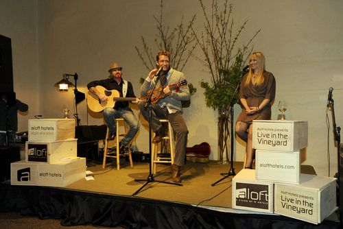 Matthew Morrison at Aloft Hotels Presents Live in the Vineyard 2